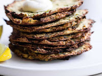 PALEO BAKED ZUCCHINI FRITTERS