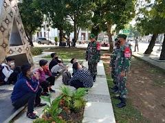 Jelang Hari Raya Idul Fitri, Kodim Pekalongan Giatkan Operasi PPKM Mikro