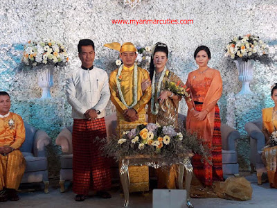 Myint Myat Wedding