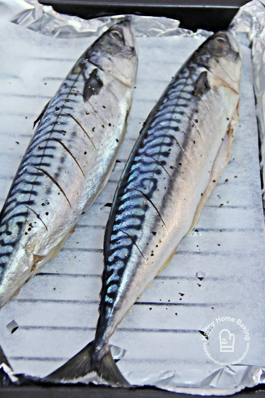 Happy Home Baking Oven Grilled Mackerel