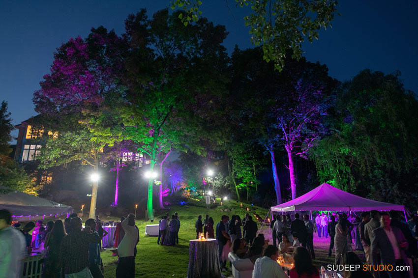 Senior Graduation Party Decorations Setup Design Night Lighting Backyard Outdoors by SudeepStudio,com Ann Arbor Senior Pictures Photographer