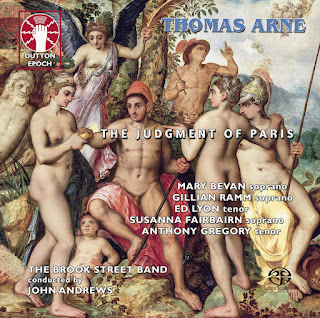 Thomas Arne: The Judgement of Paris - Dutton