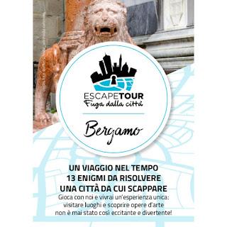 Escape Tour - Fuga dalla città dal 14 ottobre al 16 dicembre Bergamo