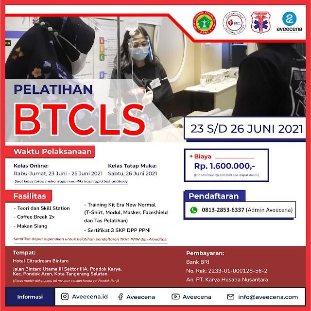 (3 SKP DPP PPNI) Pelatihan BTCLS Lokasi Tangerang Selatan