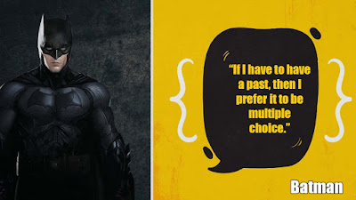 Batman quotes on fear