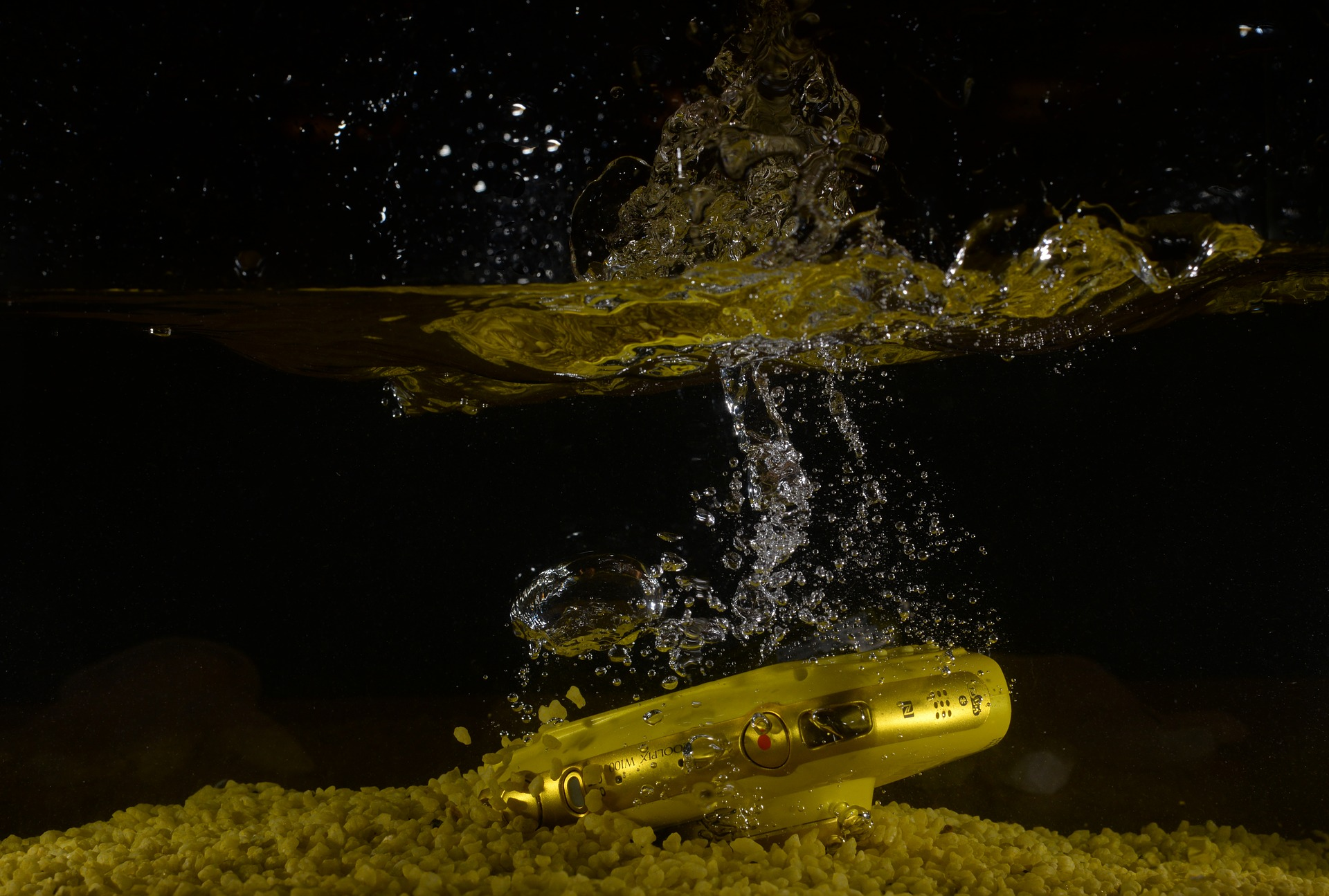 kamera tahan air