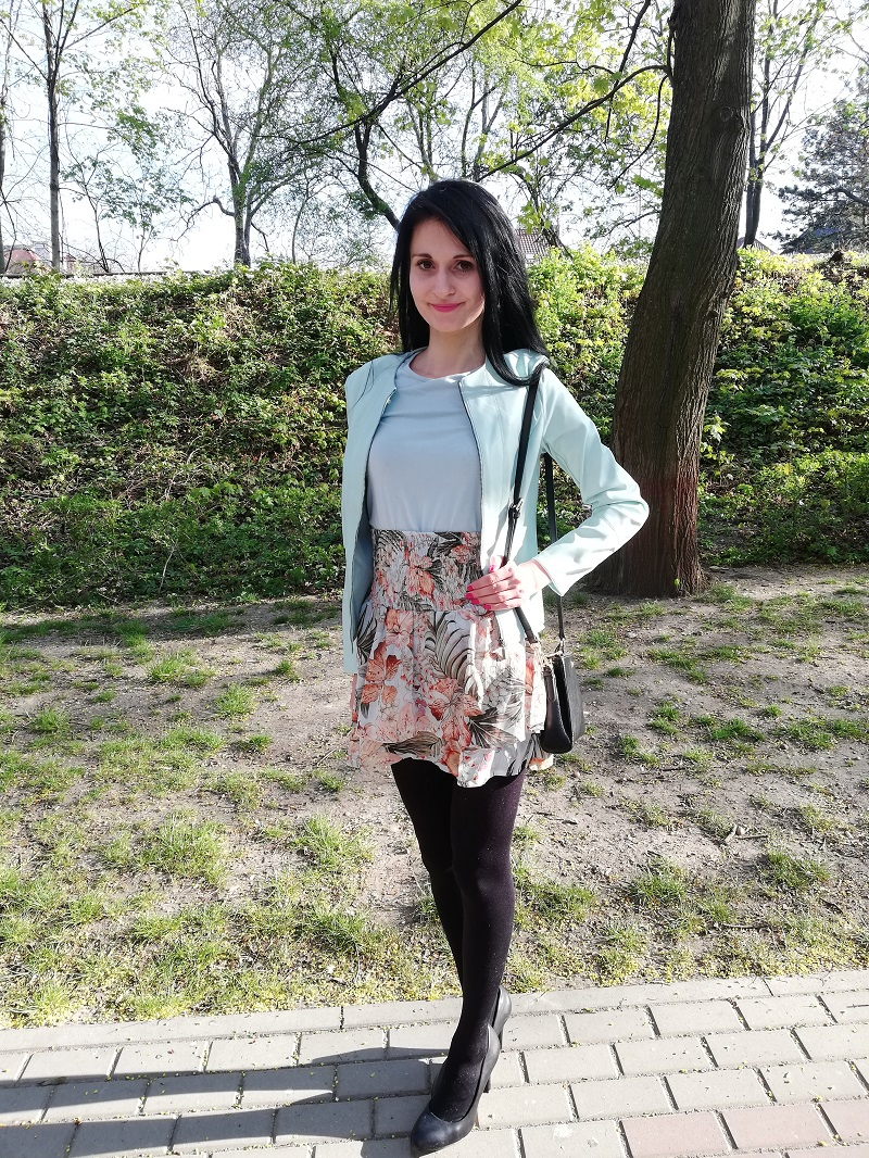 Orsay pistacjowa ramoneska