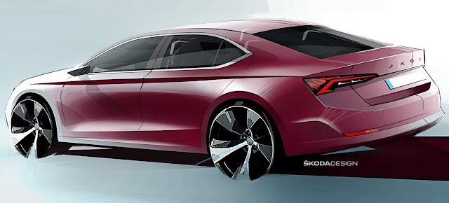 Skoda Octavia 2020: primeiras imagens da 4ª geração