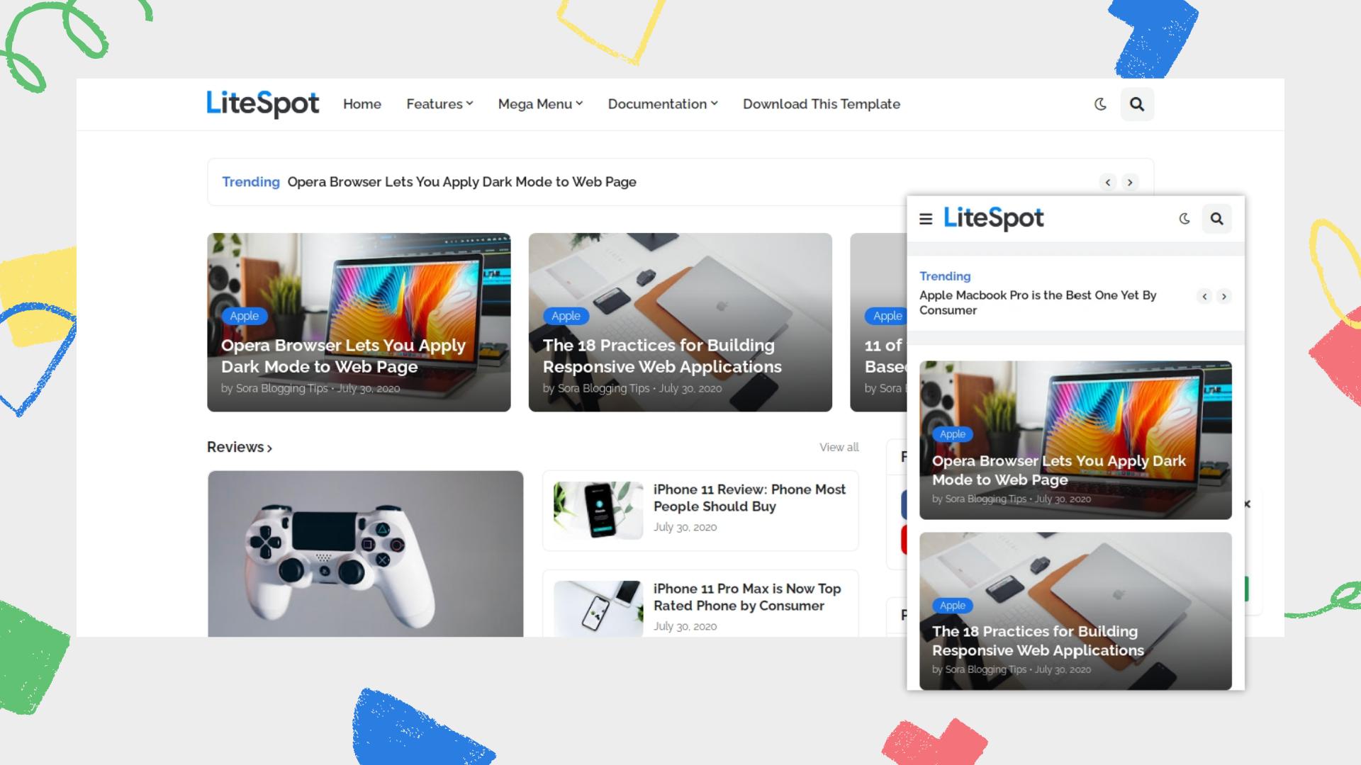 litespot-premium-responsive-blogger