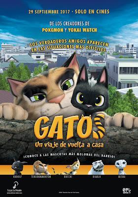 Gatos Un Viaje De Vuelta A Casa 2016 Custom HDRip NTSC Spanish 5.1