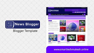 News Blogger - Premium Responsive Blogger Template