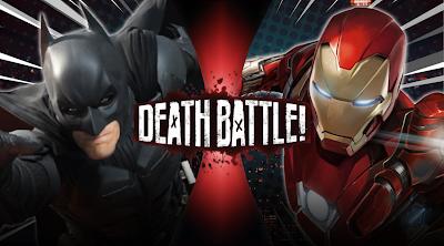 Death Battle!! - Batman VS Iron Man