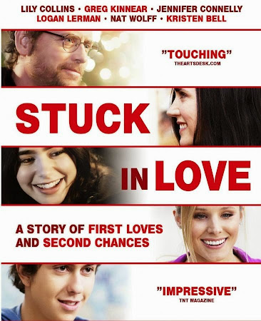 Poster Of Stuck in Love In Dual Audio Hindi English 300MB Compressed Small Size Pc Movie Free Download Only At worldfree4u.com