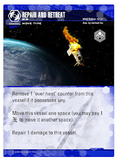 Dog Fight: Starship Edition Repair and Retreat