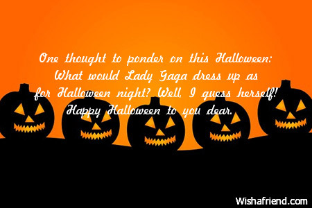 Happy Halloween Scary Wishes & Quotes 2016 - Top Best Wishes Pictures of happy Halloween Day