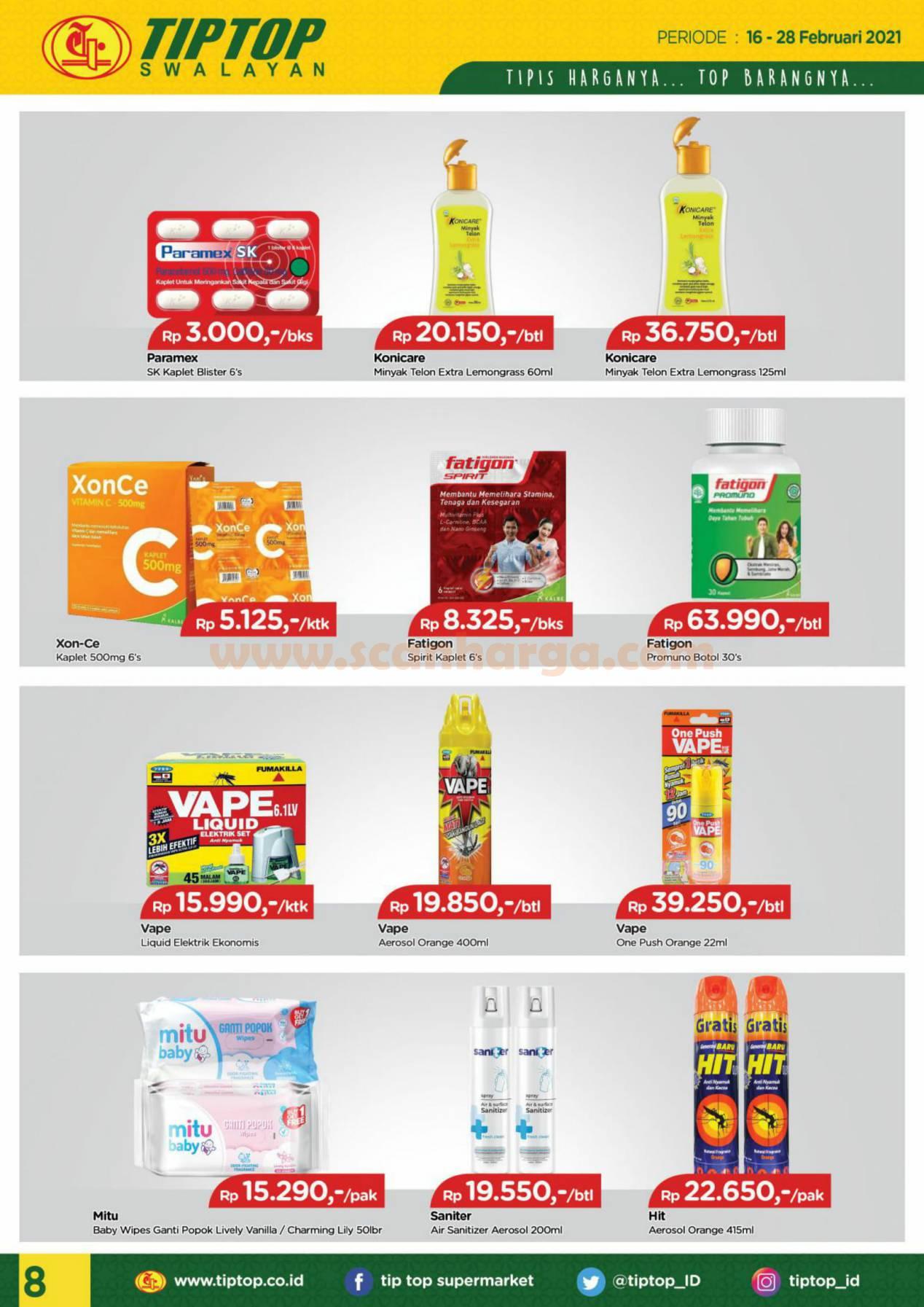 Katalog Promo Tip Top Pasar Swalayan 16 - 28 Februari 2021 8