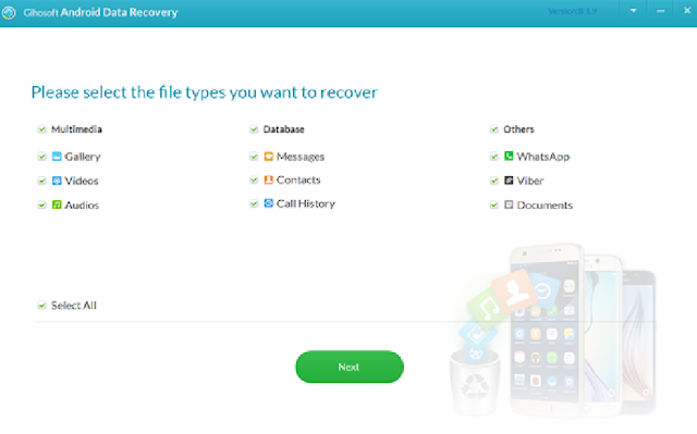 Recover Deleted Data from Android without Backup