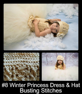 http://www.ravelry.com/patterns/library/winter-princess-dress-and-hat-all-sizes