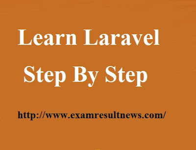 Laravel Tutorial Step by Step for Beginners