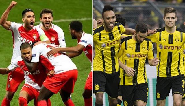 Borussia Dortmund vs Moncaco en vivo