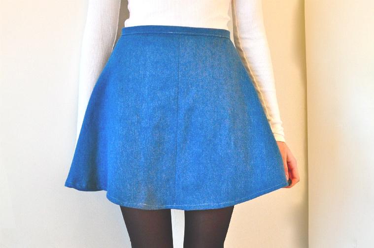 Diy Denim Skirt 29