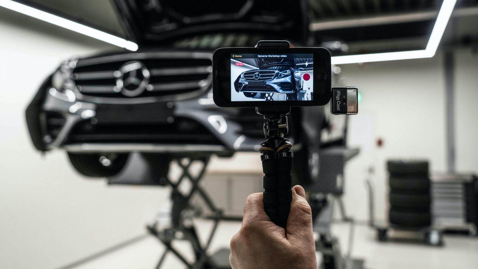 مرسيدس-بنز تقدم تطبيق StarView الجديد لخدمات الصيانة عبر الفيديو