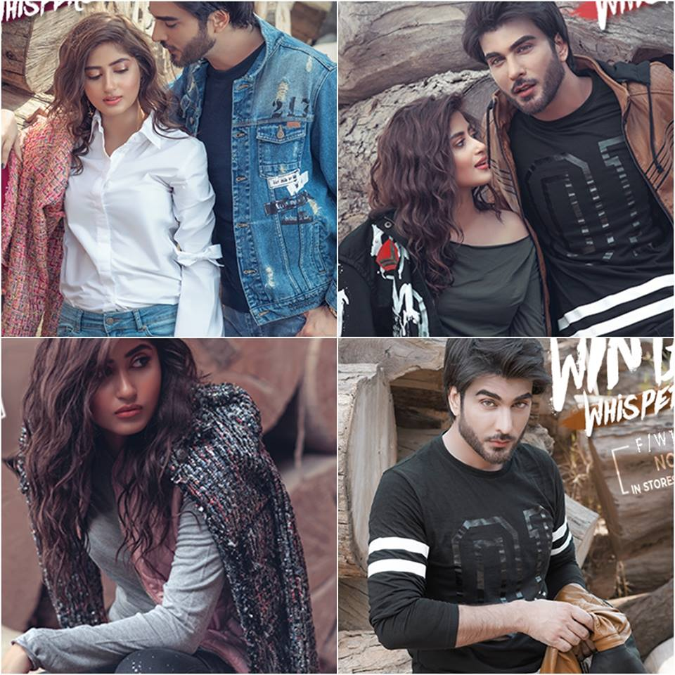 From a recent shoot Imran Abbas and Sajal Ali !