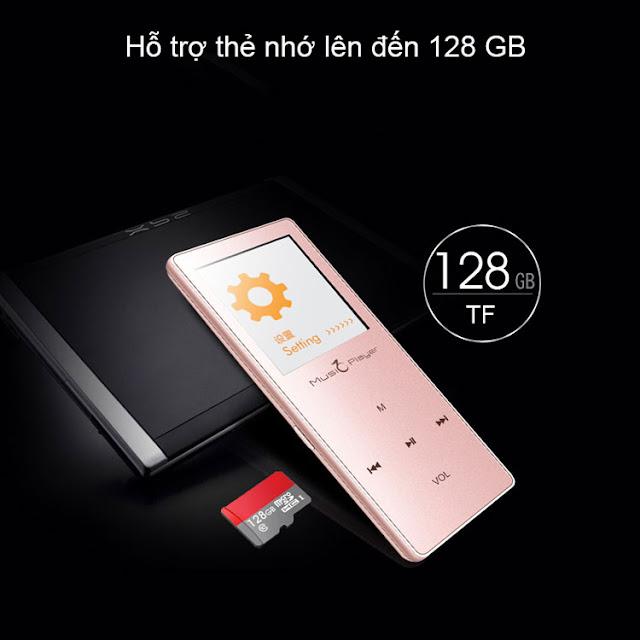 Hỗ trợ thẻ nhớ 128G
