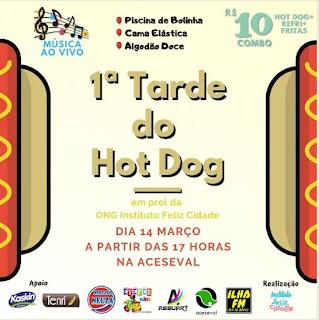 ONG Feliz Cidade promove Tarde do Hot Dog em Pariquera-Açu