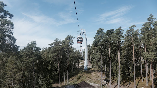 Photo of Safari Cable Car at Kolmarden Zoo in Sweden