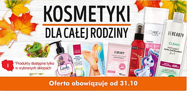 kosmetyczna oferta Biedronki
