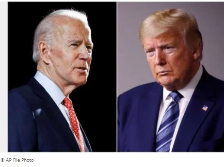 Biden, who is targeting Trump, says he will not use the military as a 'prop'