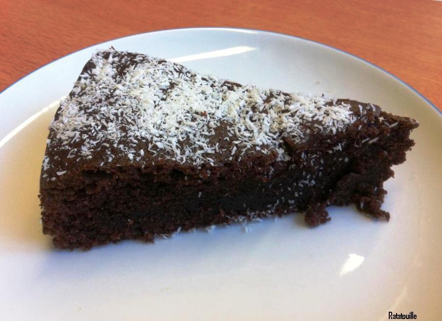 Foodpornsensation Schoko Rahm Kuchen Mit Kokosflocken