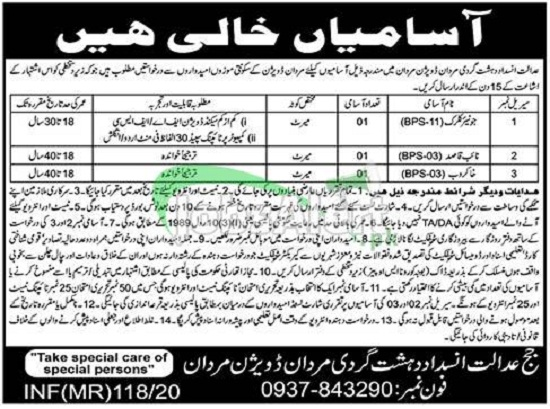 anti-terrorism-court-mardan-jobs-2020-advertisement