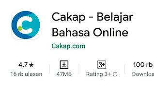 CAKAP - aplikasi belajar online TOEFL