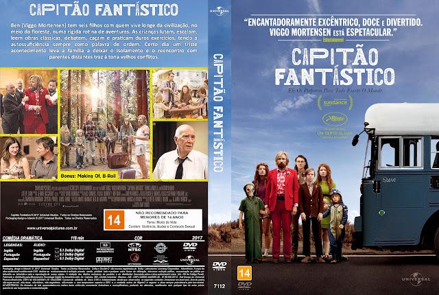 Capa DVD Capitão Fantástico [Exclusiva]