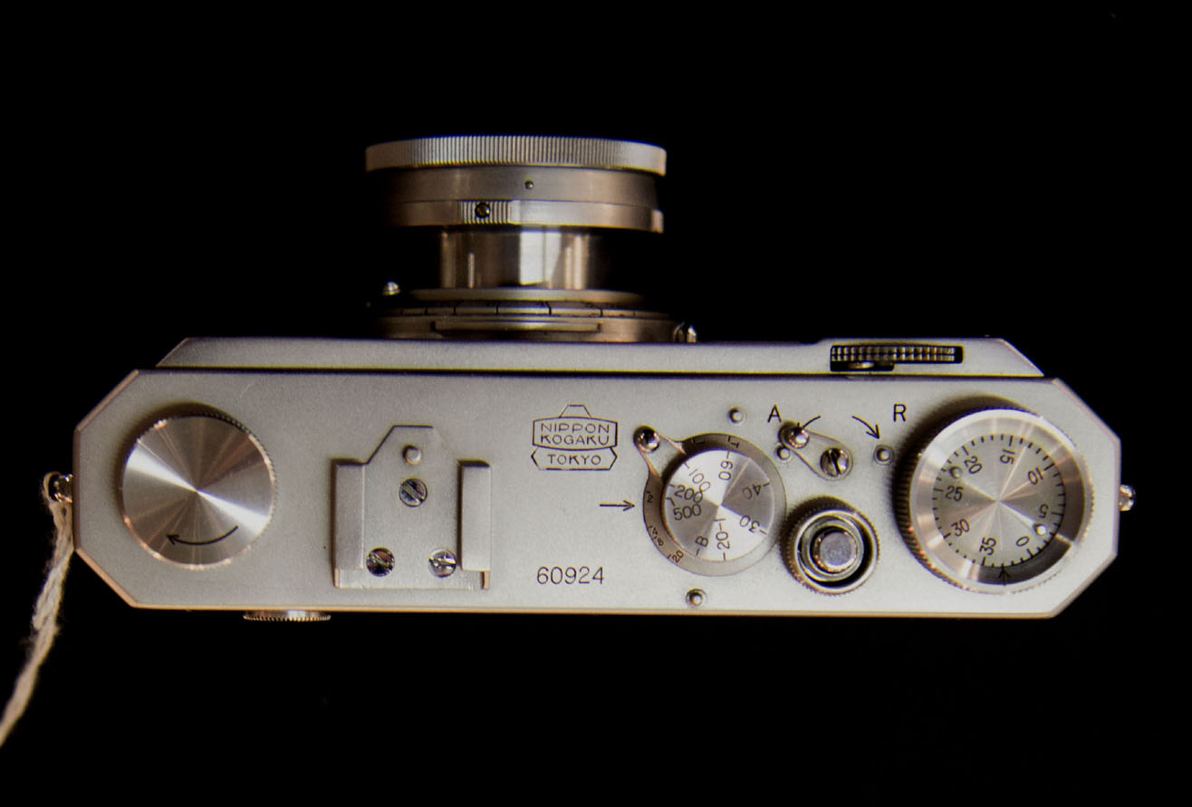 elrectanguloenlamano: A Nikon I Rangefinder From 1948 Becomes The