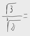 45.Racionalización (Sin sumas ni restas de raíces en denom.)