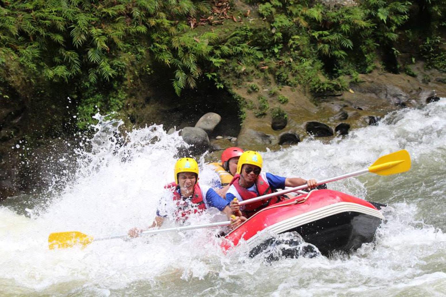 Sensasi Fullday Rafting Di Sungai Bah Bolon Sergai