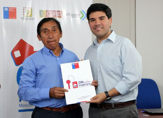 Don Ismael Segundo Oyarzún Ulloa y Jorge Moreno