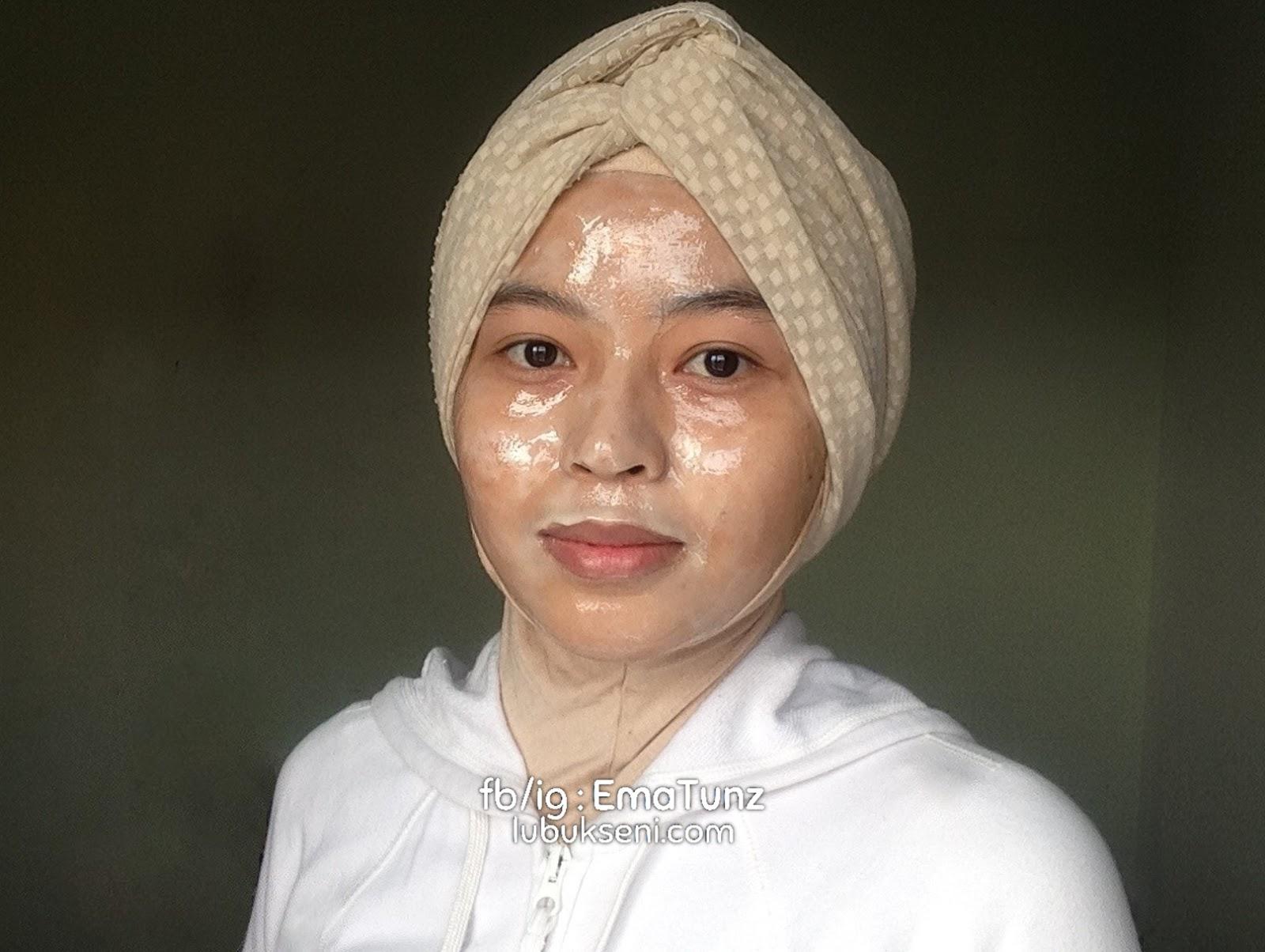 Kulit anjal guna tepung beras, madu dan putih telur _ ematunz _ lubukseni
