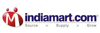 Logo of indiamart India e-commerce