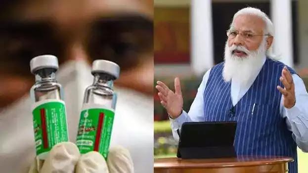 Prime Minister Narendra Modi, Covid-19 Vaccine