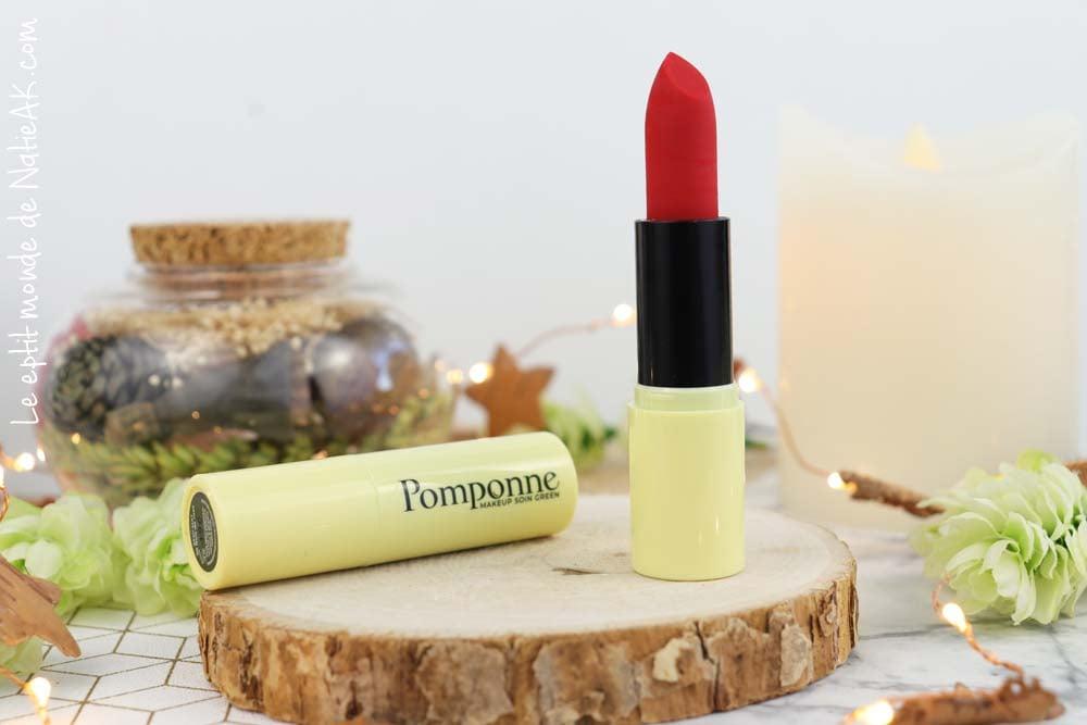 rouge à lèvres Coquelicot Pomponne avis