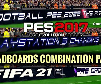PES 2017 New Adboards Combination Pack V2