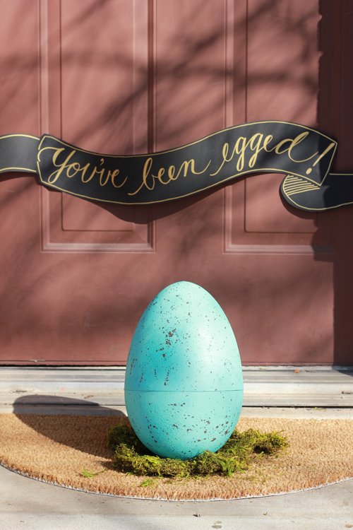 You've Been Egged from The House That Lars Built.