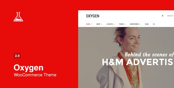 Download Free Oxygen v2.9.5 WooCommerce WordPress Theme