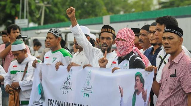 Laskar FPI Aceh Sudah di Jakarta