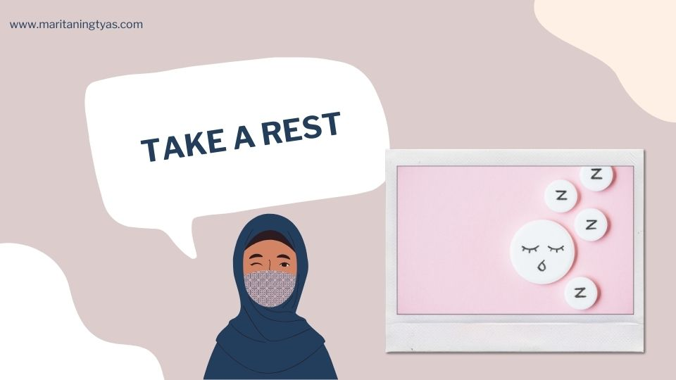 istirahat cukup