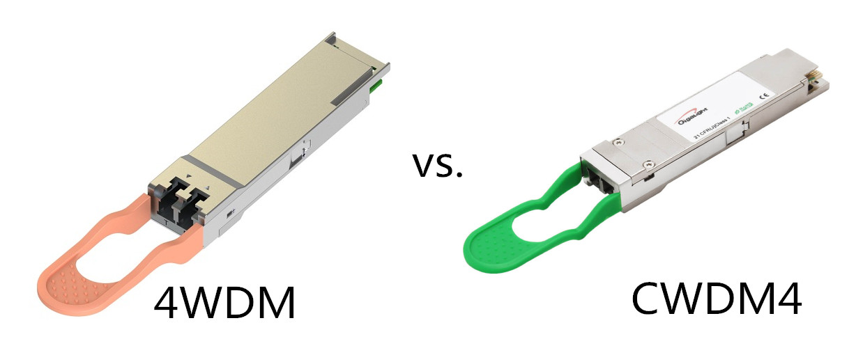 4wdm-40 vs. cwdm4